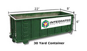 30yd Dumpsters for Rental